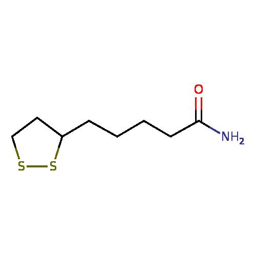 lipoamide (YMDB00697) - Yeast Metabolome Database